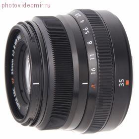 Объектив FUJIFILM XF35mm F2.0 R WR black